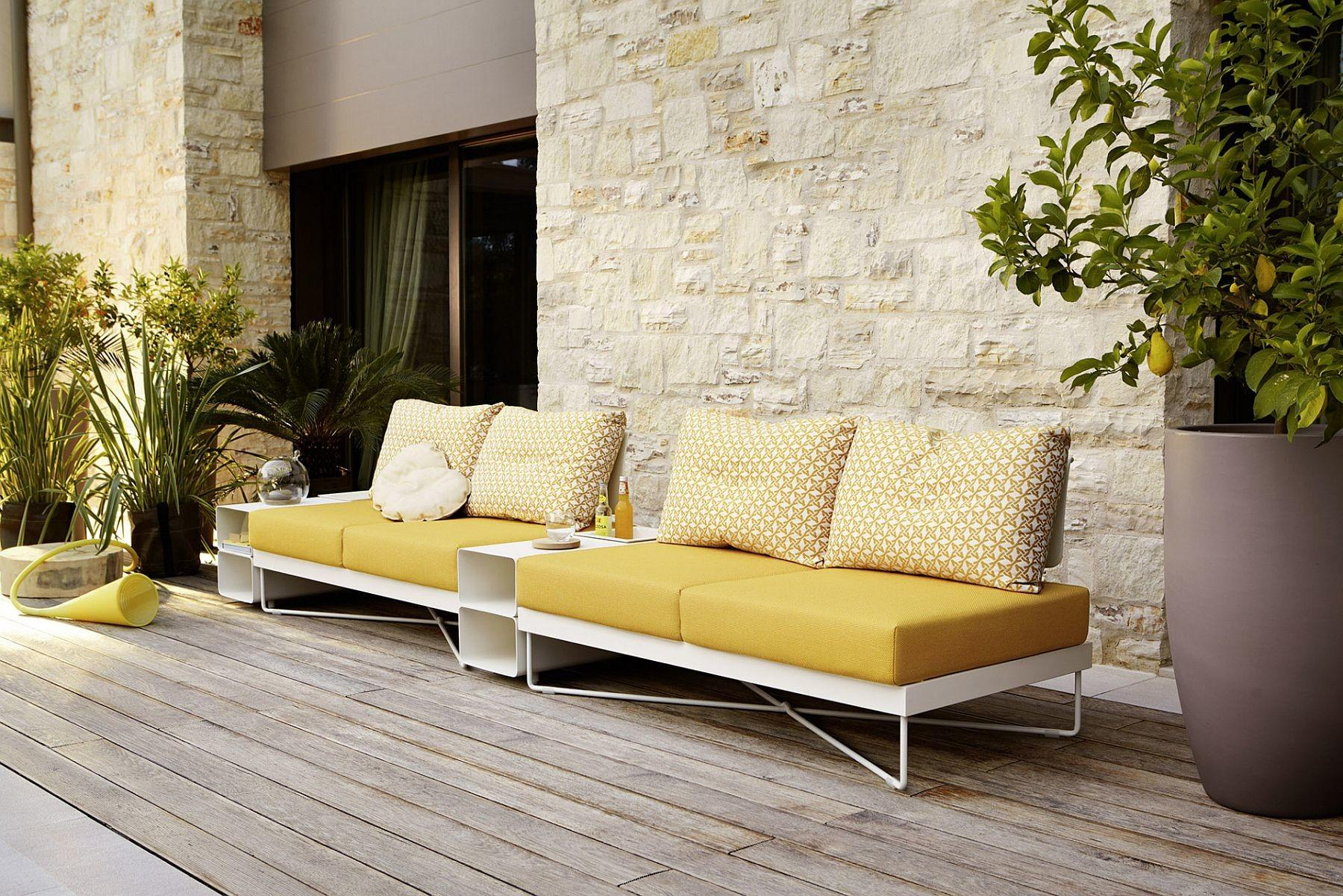 Minimal Sophisticated Outdoor Furniture Collection