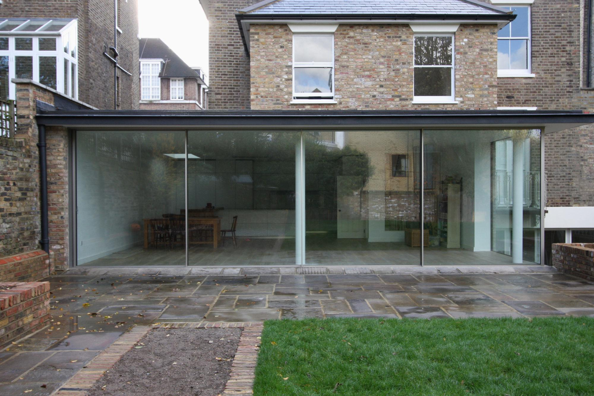 Minimal Windows House Extensions