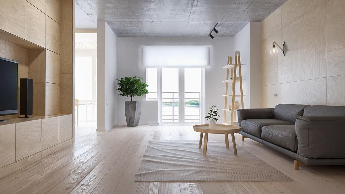 Minimalist Apartment Family Four