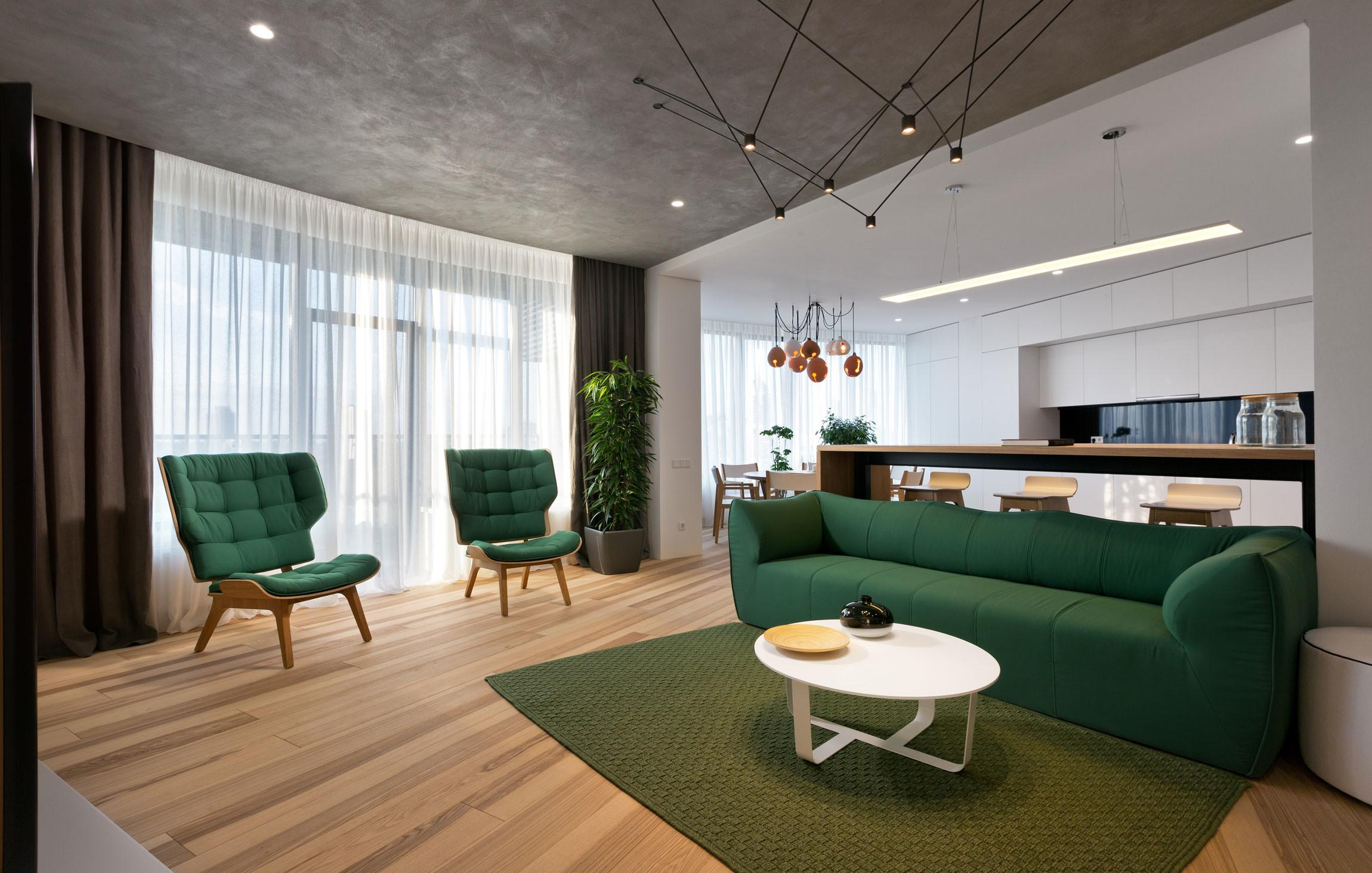 Minimalist Apartment Kiev Ukraine