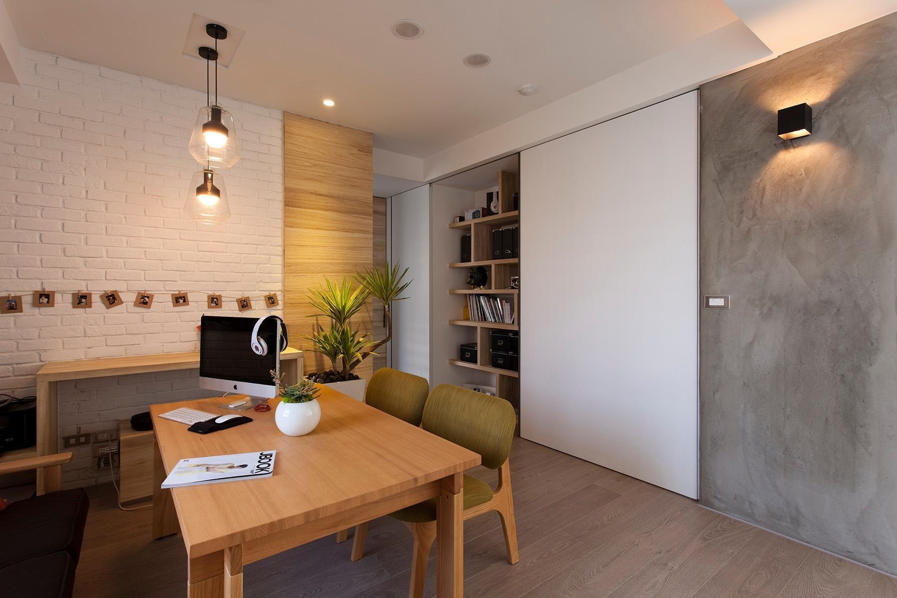 Minimalist Apartment Taiwan Fertility Design