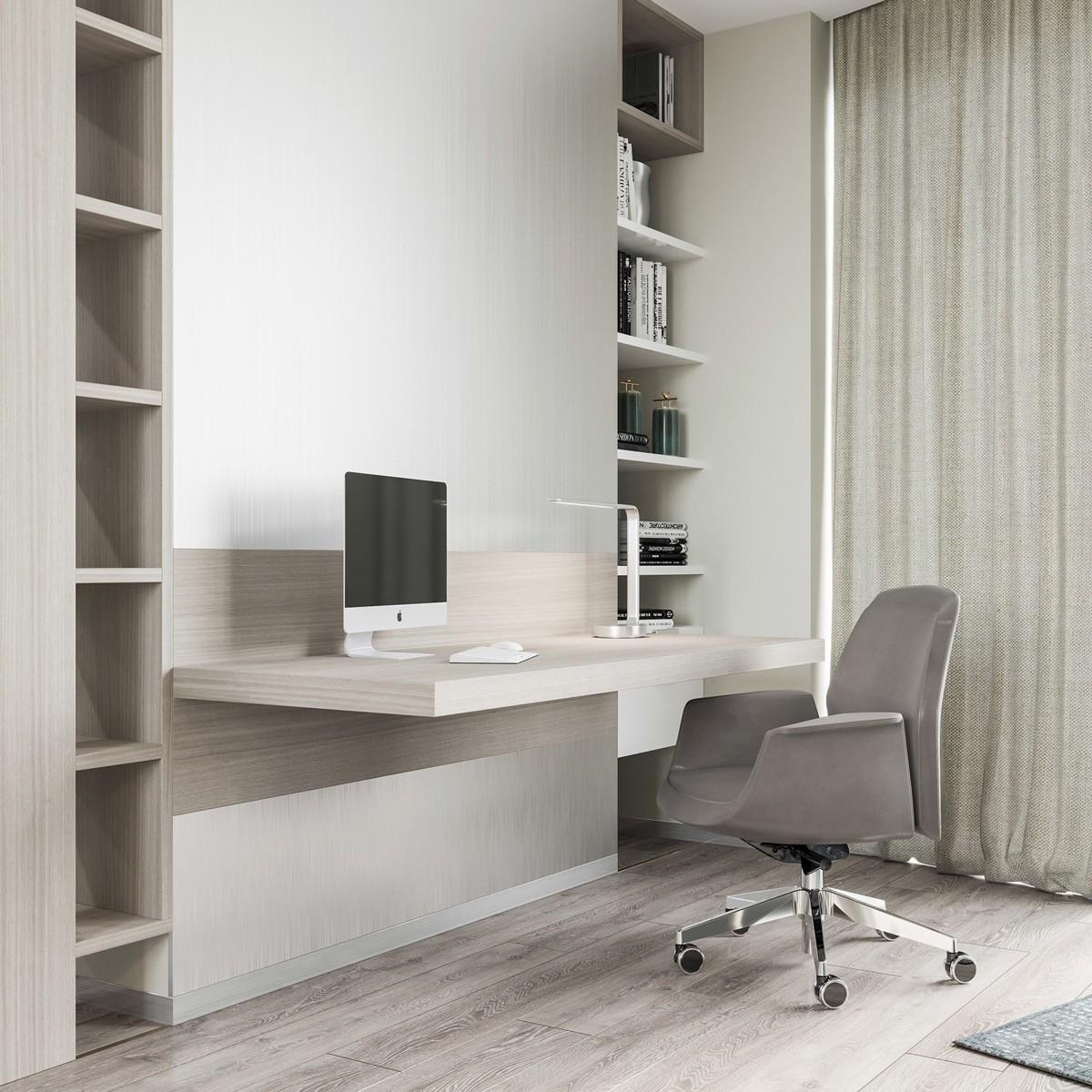 Minimalist Home Offices Sport Simple But Stylish