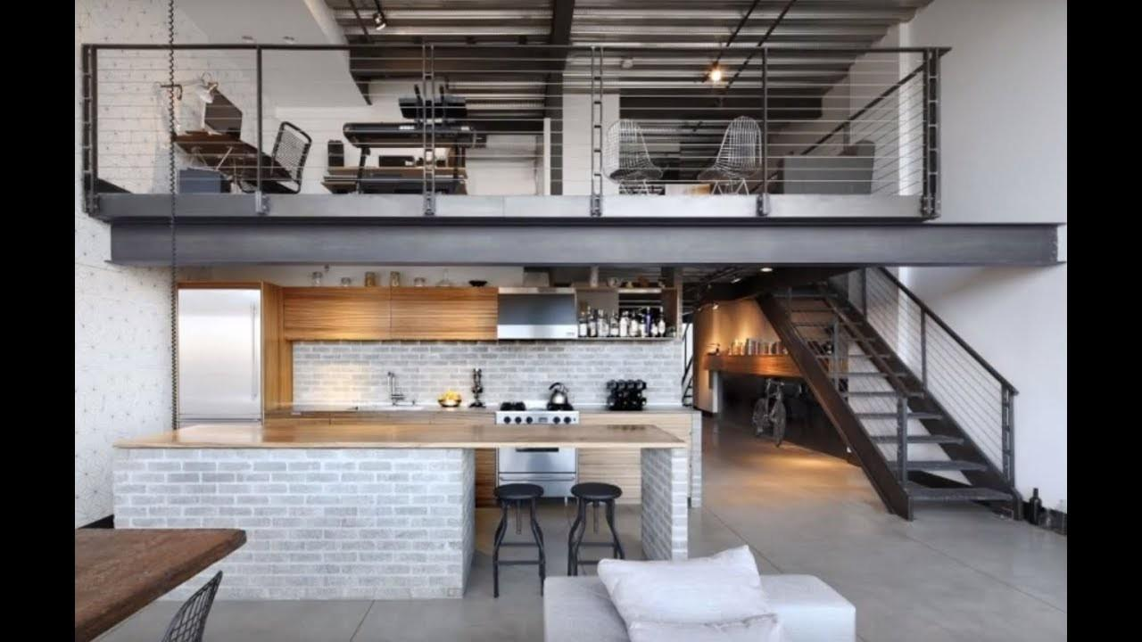 Minimalist Industrial Loft Apartment Seattle