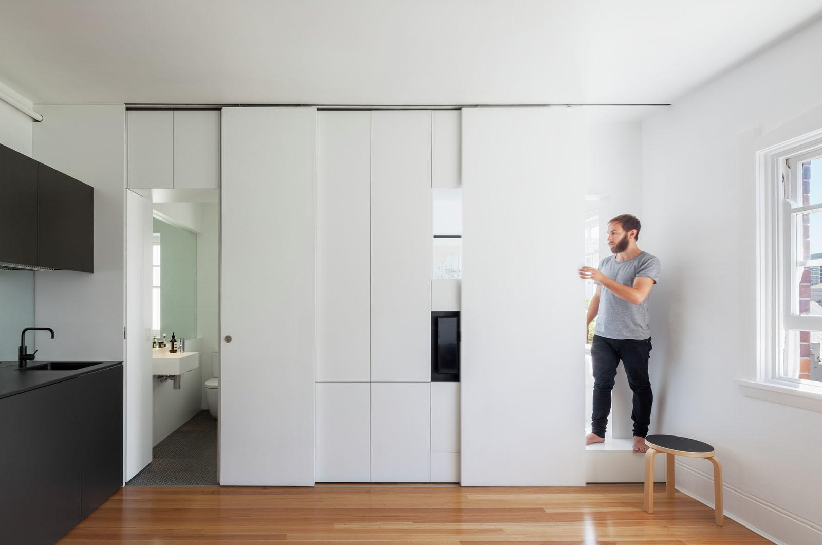 Minimalist Inner City Micro Apartment Smart