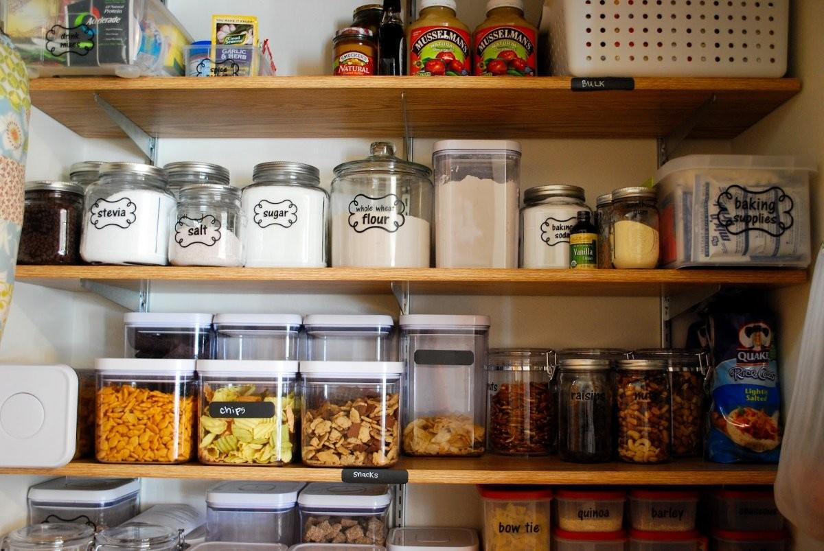 Minimalist Kitchen Design Bulk Food Storage