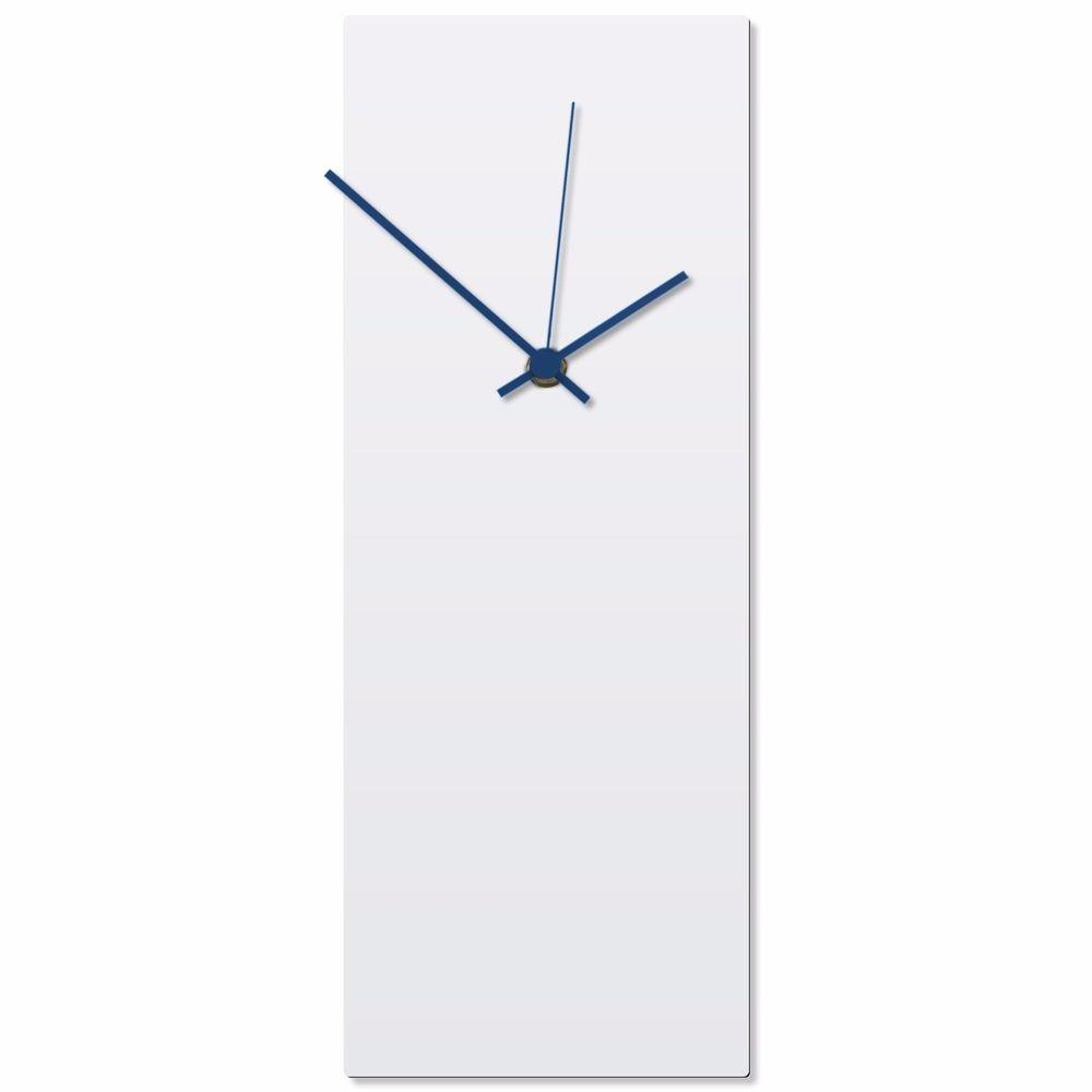 Minimalist Wall Clock Contemporary Decor Modern Metal