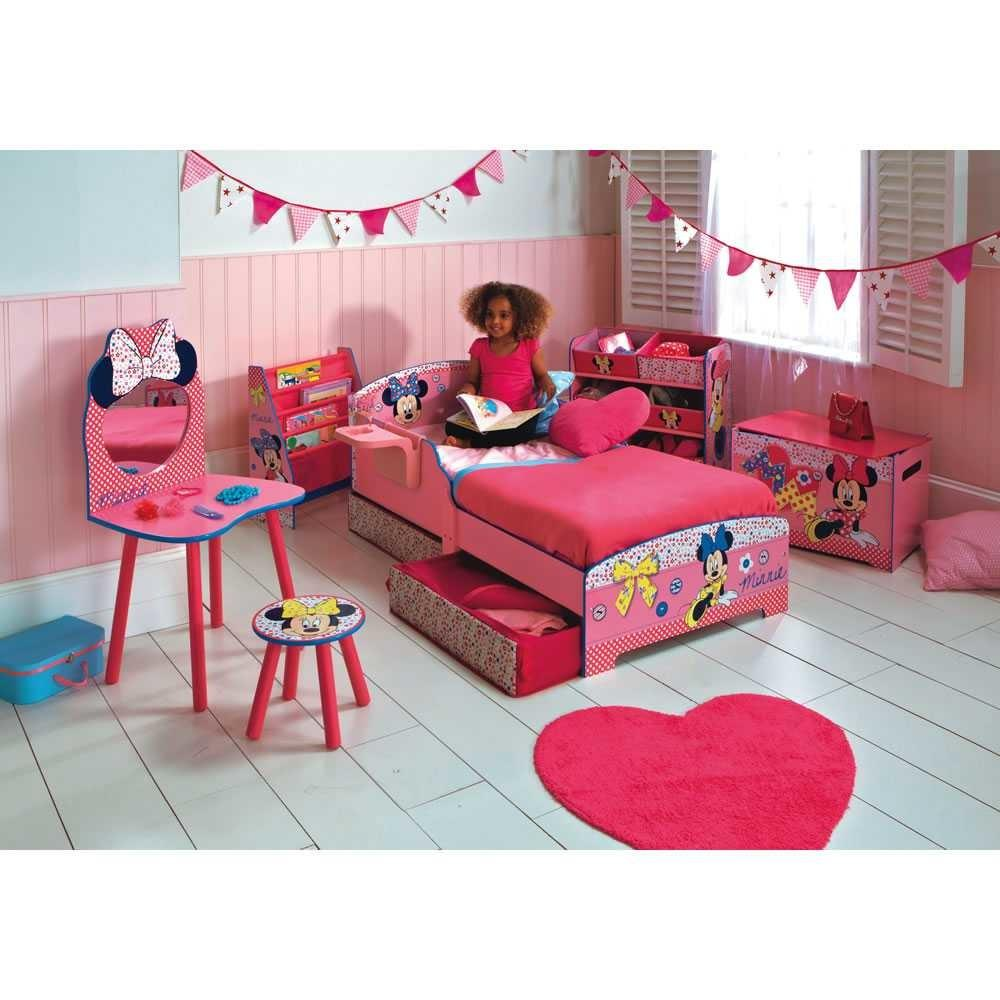 Minnie Mouse Bedroom Also Collection Fascinating Red