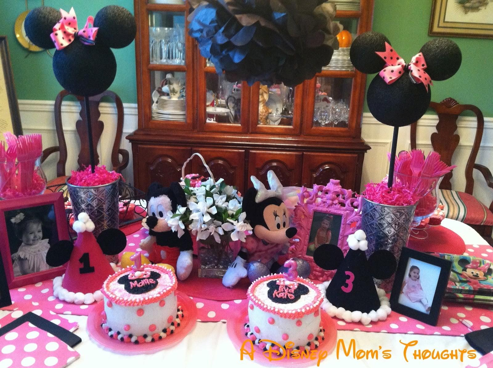 Minnie Mouse Birthday Ideas Disney Mom Thoughts