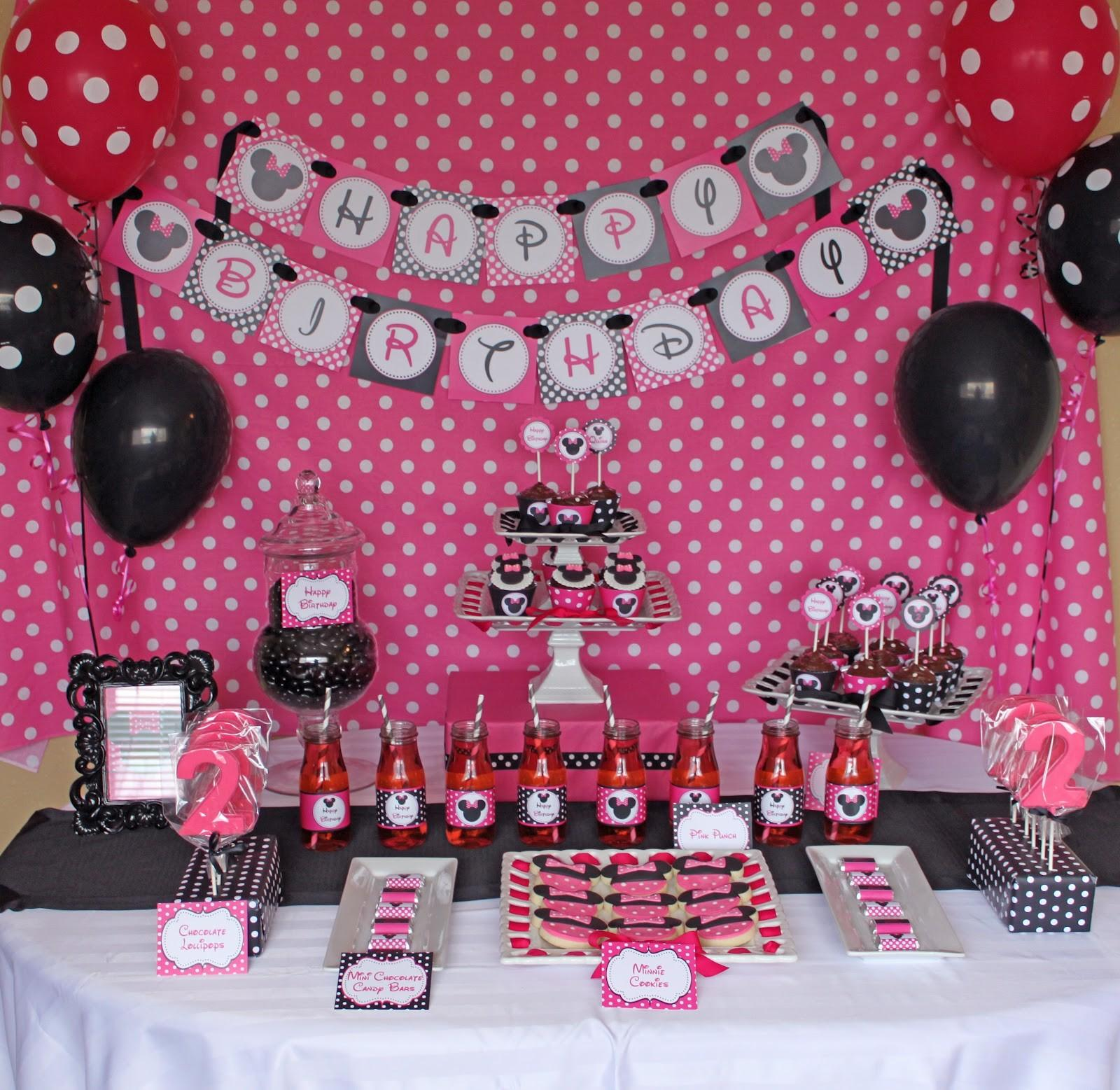 Resourceful Minnie Mouse Party Ideas That Will Make You Say Wow Photographs Decoratorist