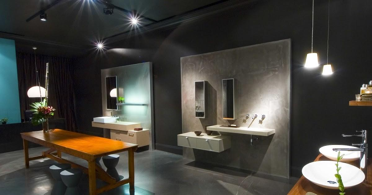 Minosa Design Annandale Showroom Modern Bathroom
