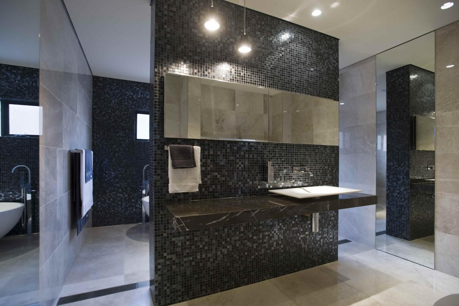 Minosa Large Open Bathroom Feature Stunning Bisazza