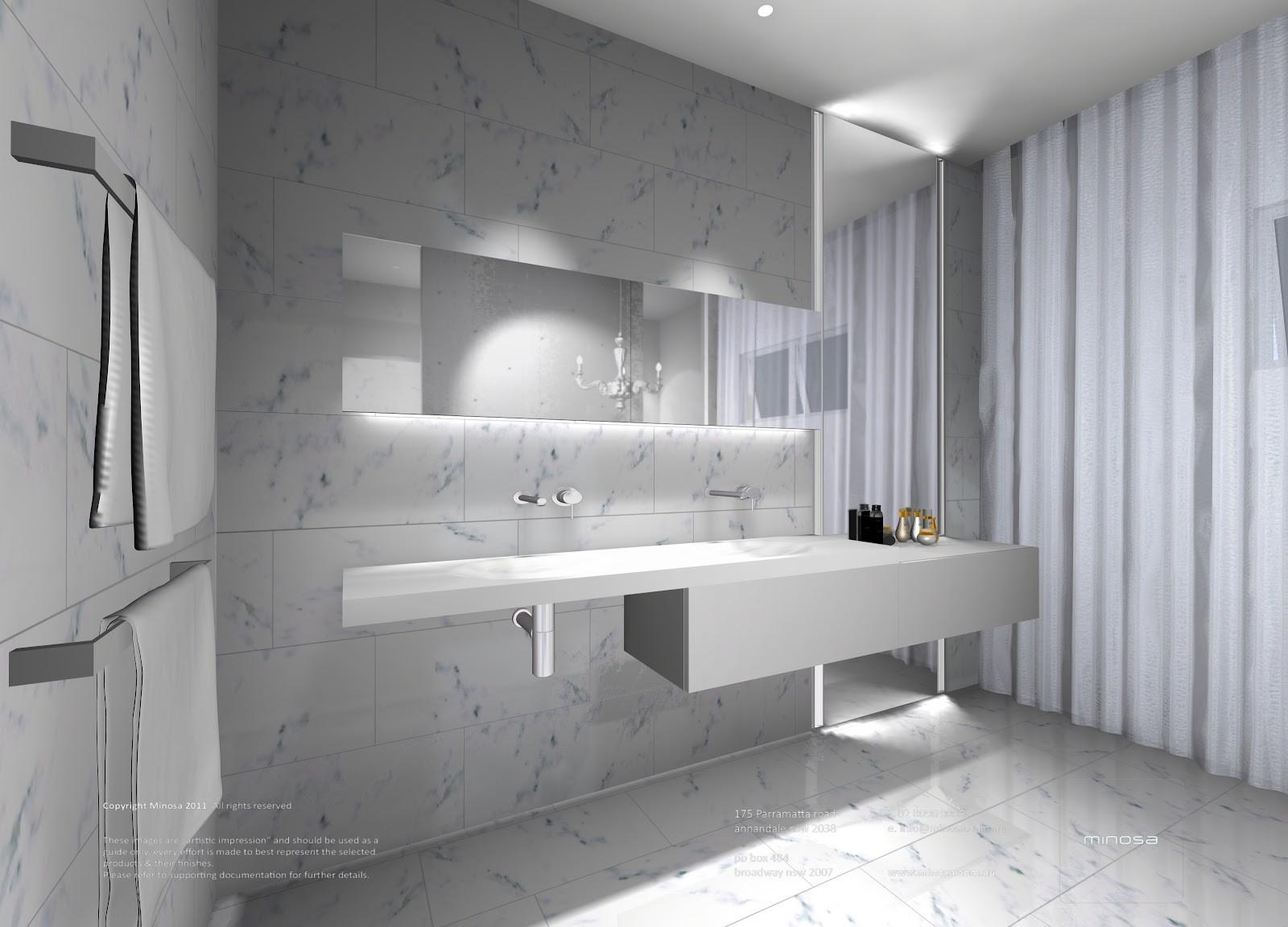 Minosa Modern Bathroom Products Focus Design