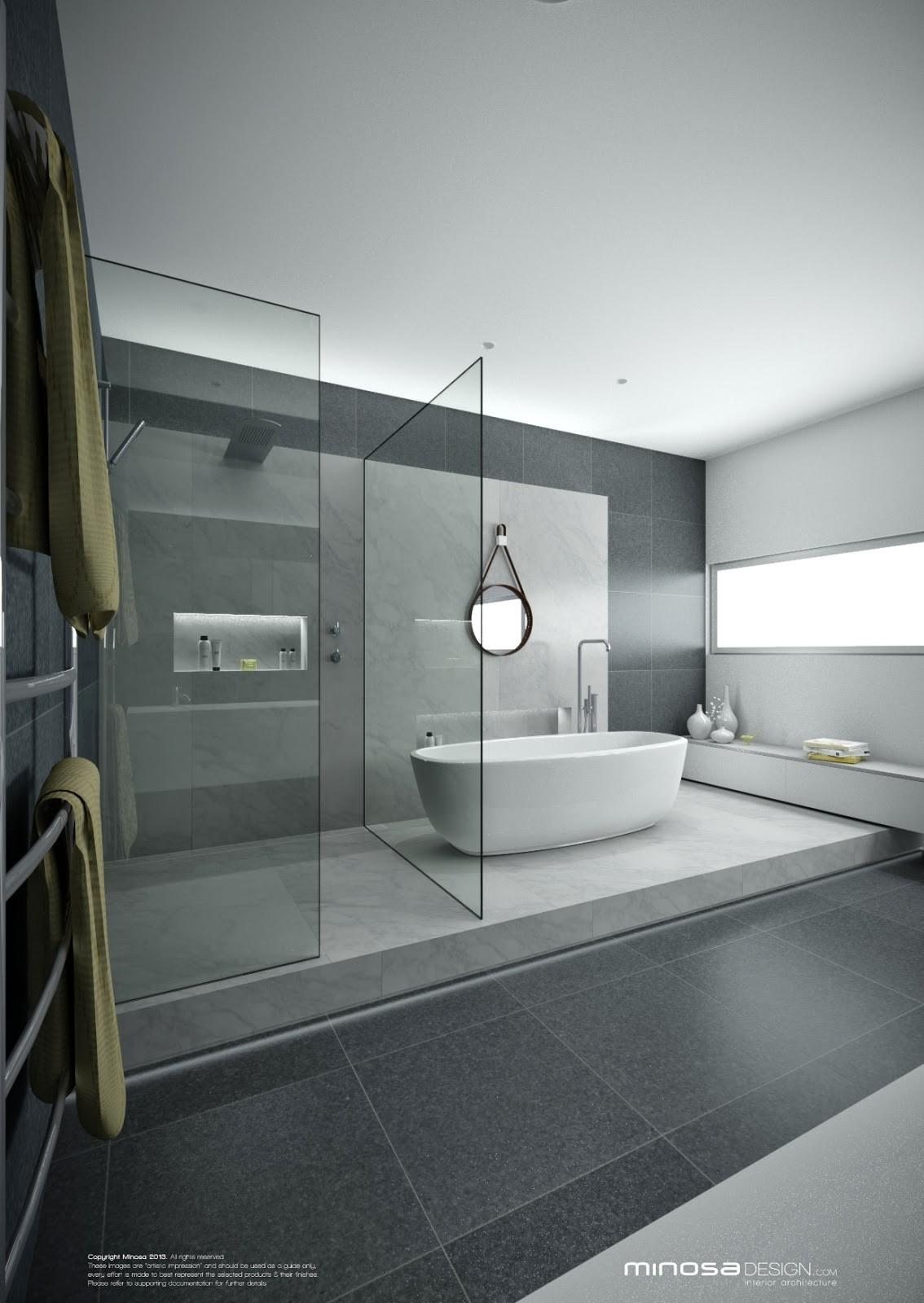 Minosa Real Showstopper Modern Bathroom
