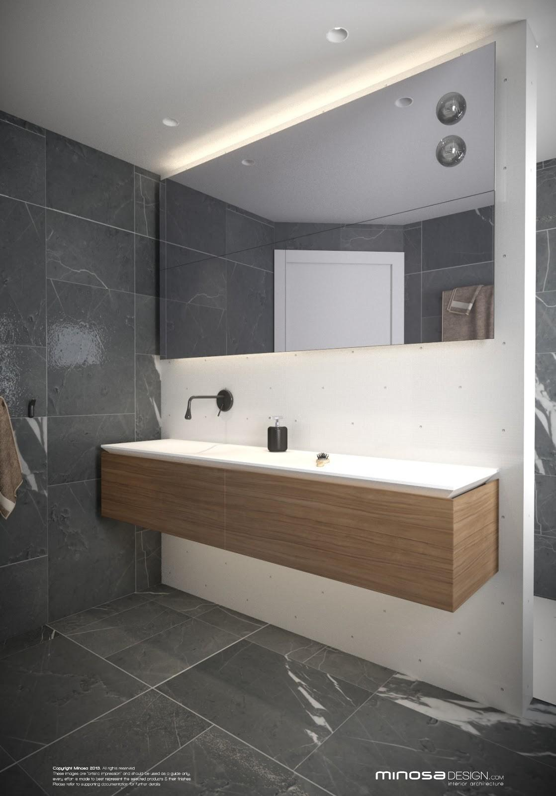 Minosa Small Modern Bathroom Share