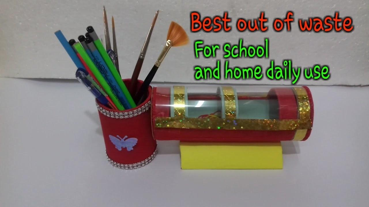 Mint Craft Ideas Pencil Stand Home Case