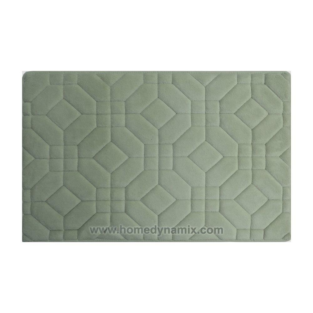 Mint Memory Foam Bathroom Mat Rug Day Spa Tiles Design