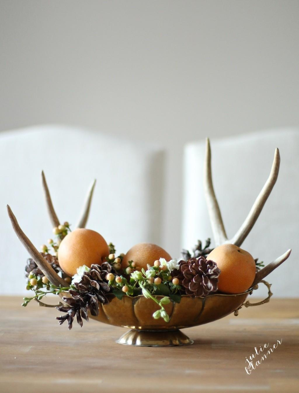 Minute Thanksgiving Centerpiece Tutorial