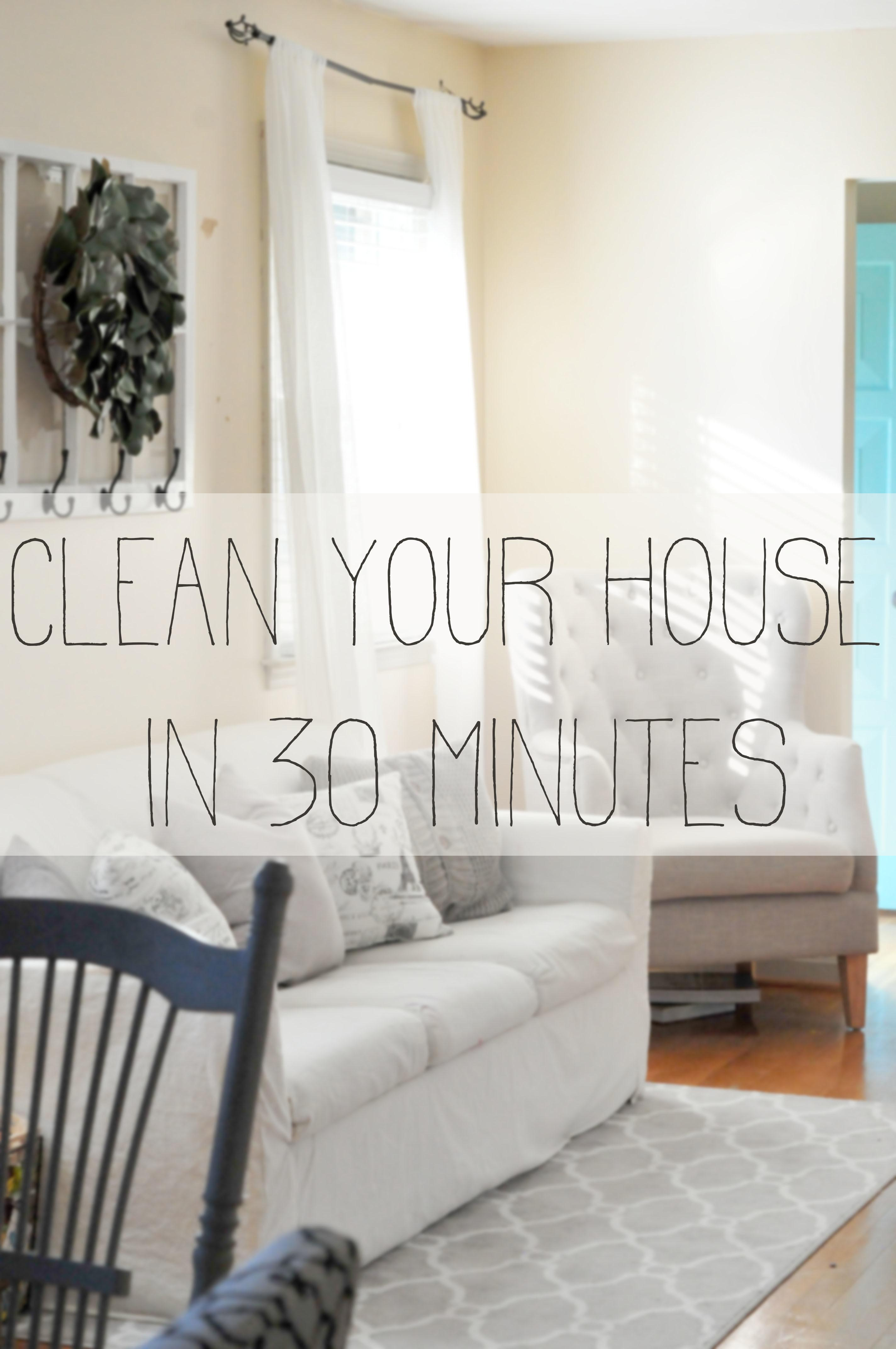 Minutes Minute House Cleaning Salt Life Blog