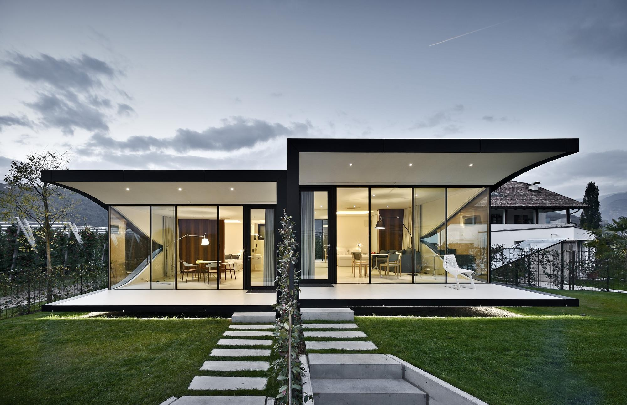 Mirror Houses Peter Pichler Architecture Archdaily