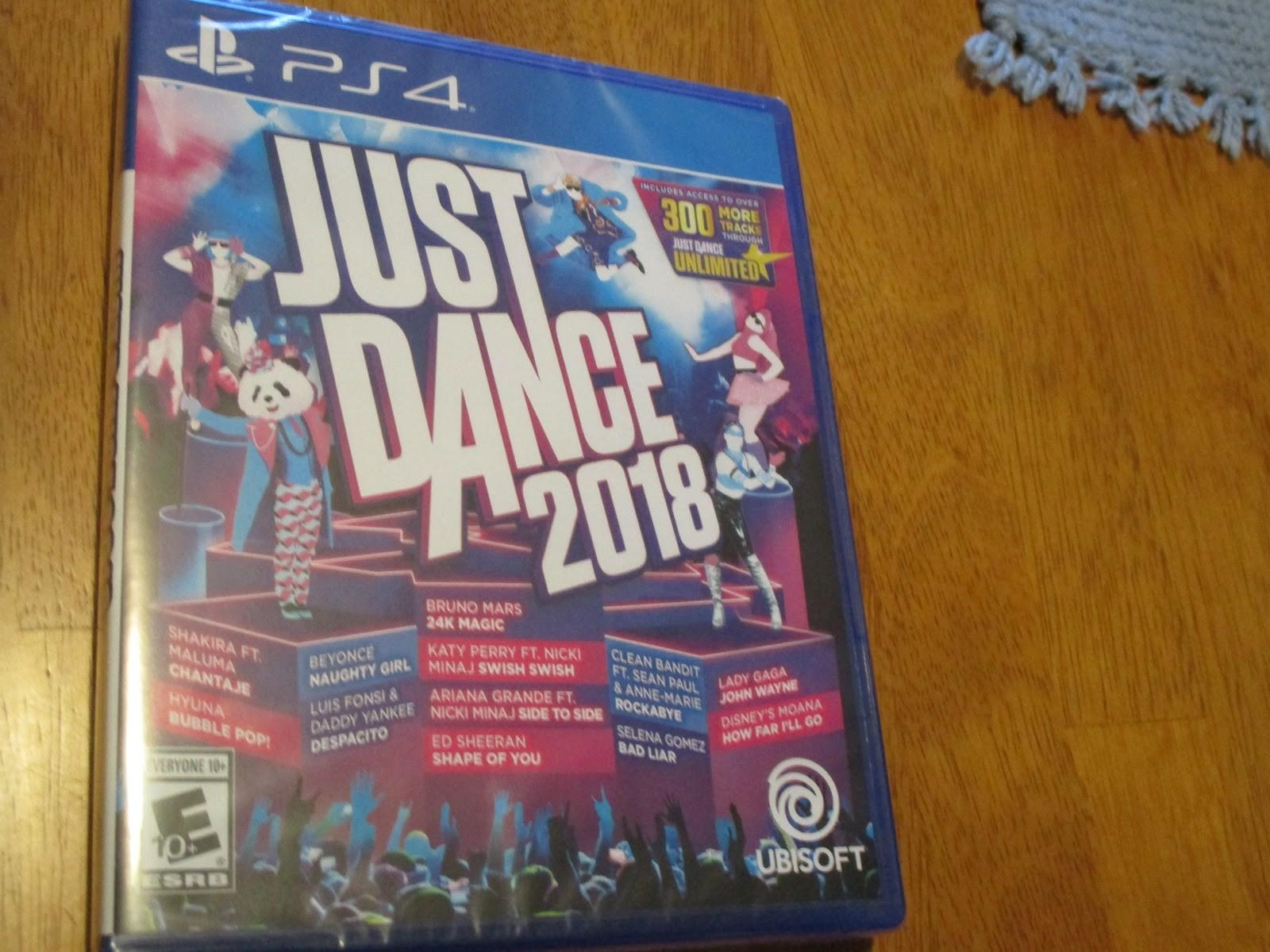 Missys Product Just Dance 2018 Holiday Gift