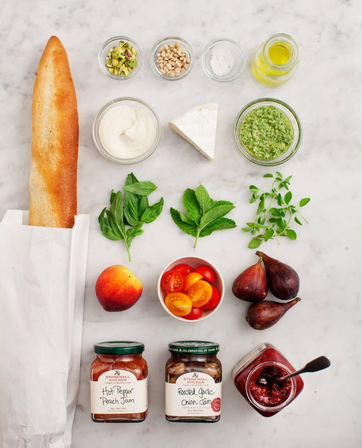 Mix Match Summer Crostini Bar Recipe Love Lemons