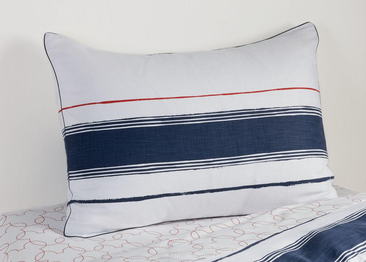 Mixed Stripe Duvet Cover Sham Midnight Blue Duvets