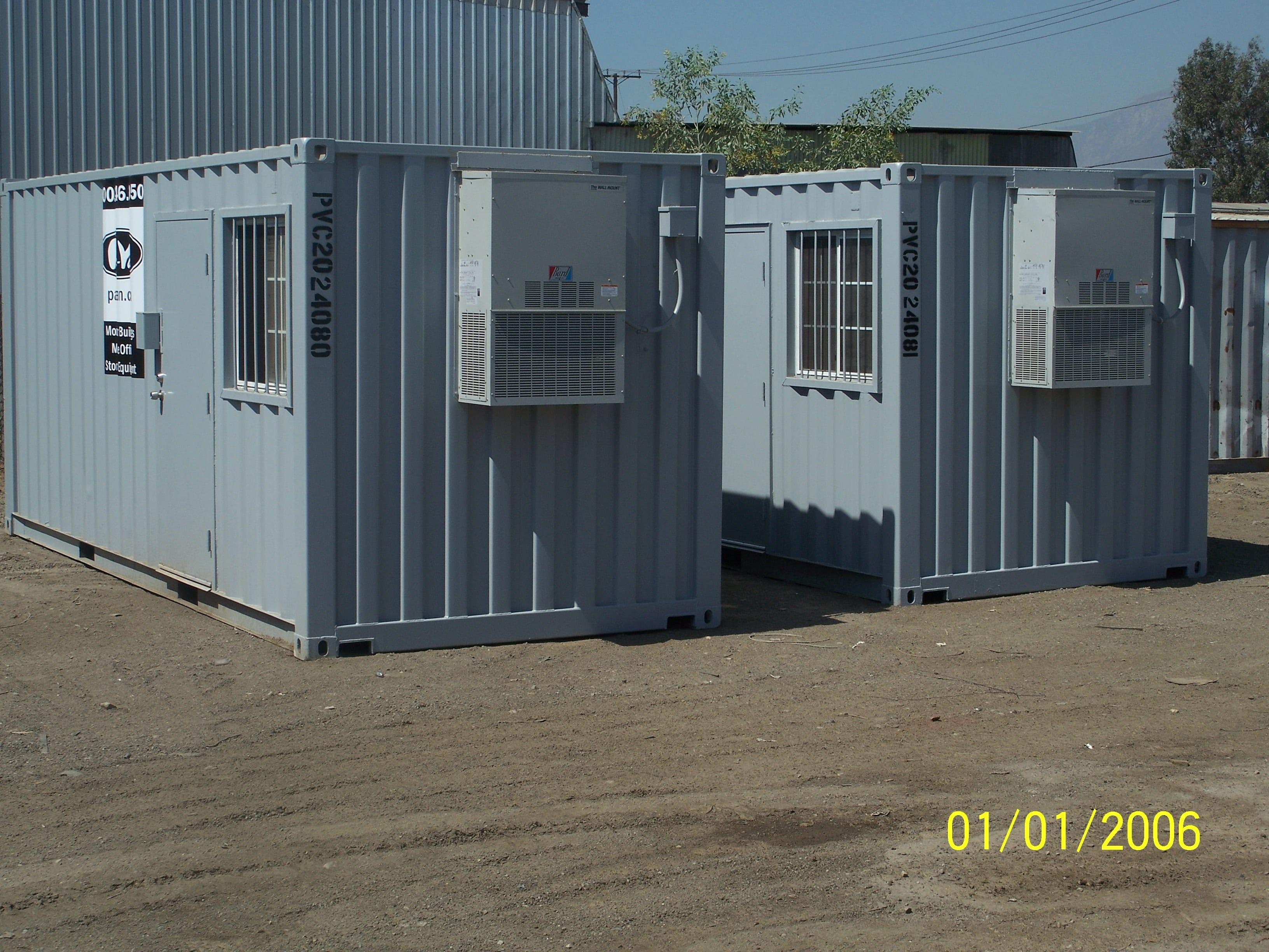 Mobile Office Storage Containers Sale Rent Pac Van