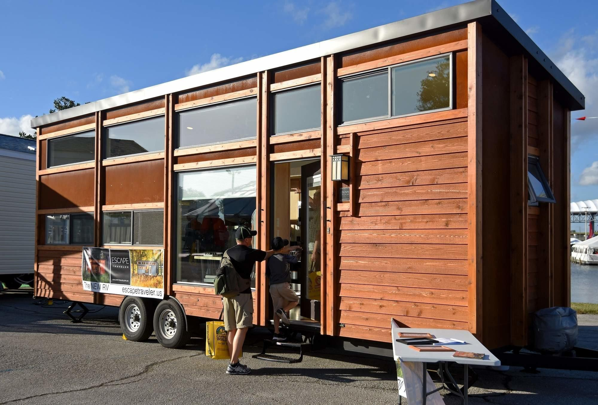 Mobile Tiny House Hit Tampa Show Tbo