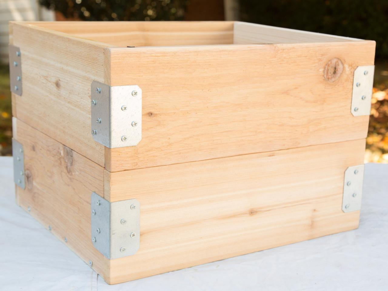 Mobile Wooden Crate Toy Storage
