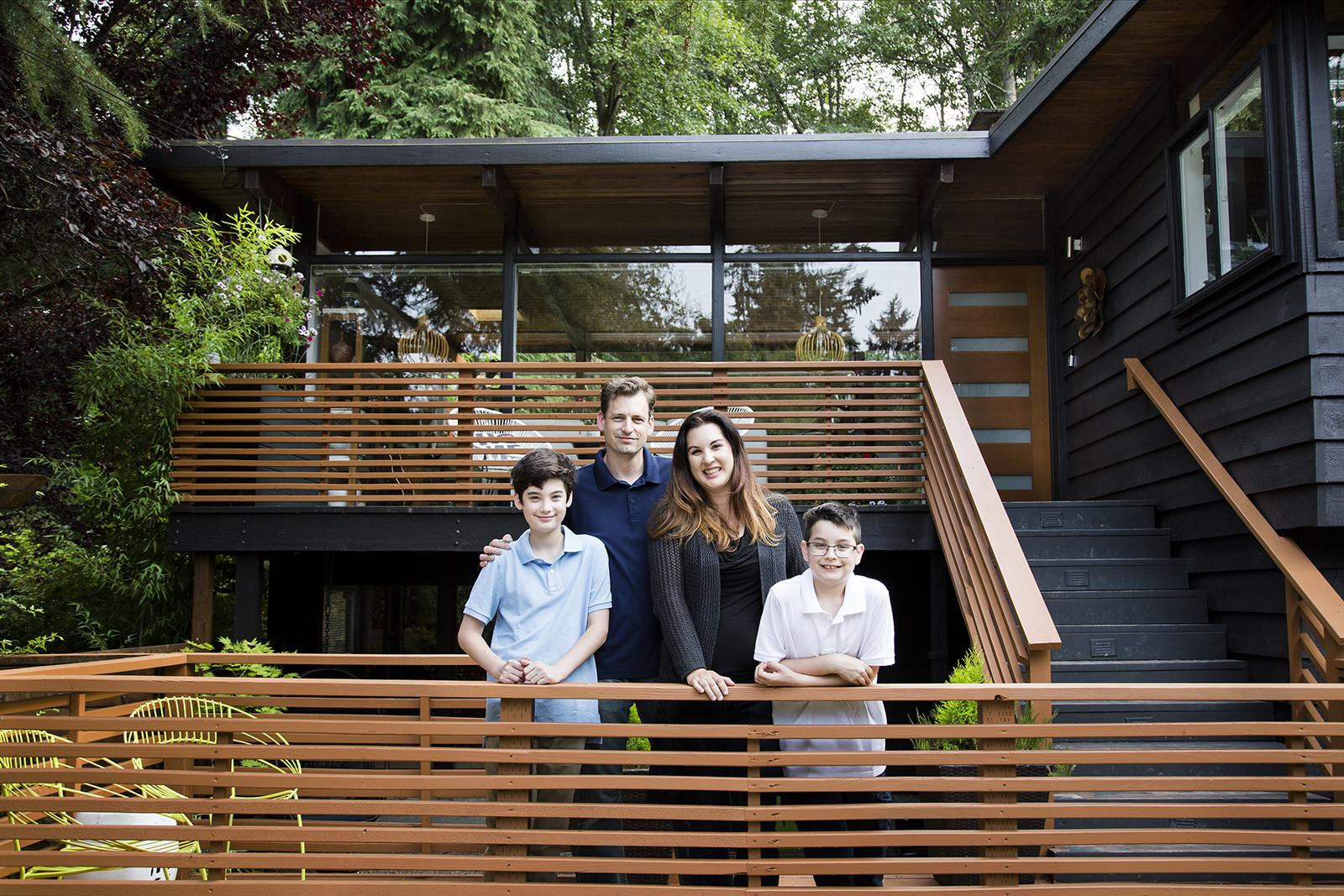 Mod 50s Seattle Home Gets Family Diy Remodel