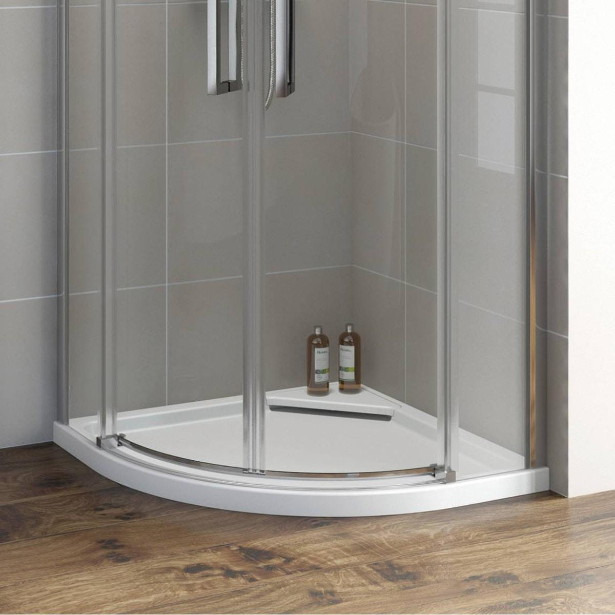 Mode Designer Quadrant Stone Shower Tray Victoriaplum