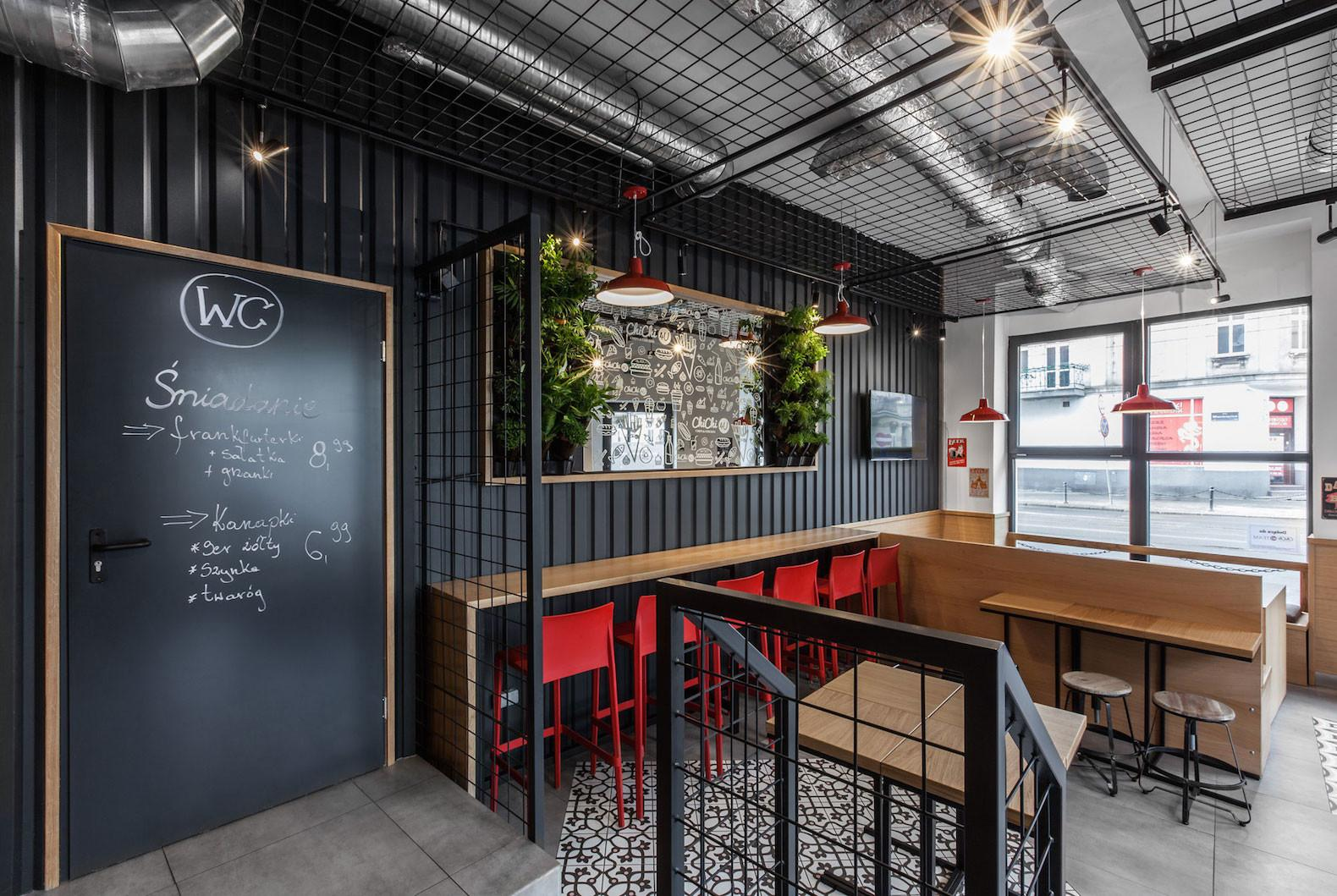 Mode Lina Designs Shipping Container Like Burger Cafe