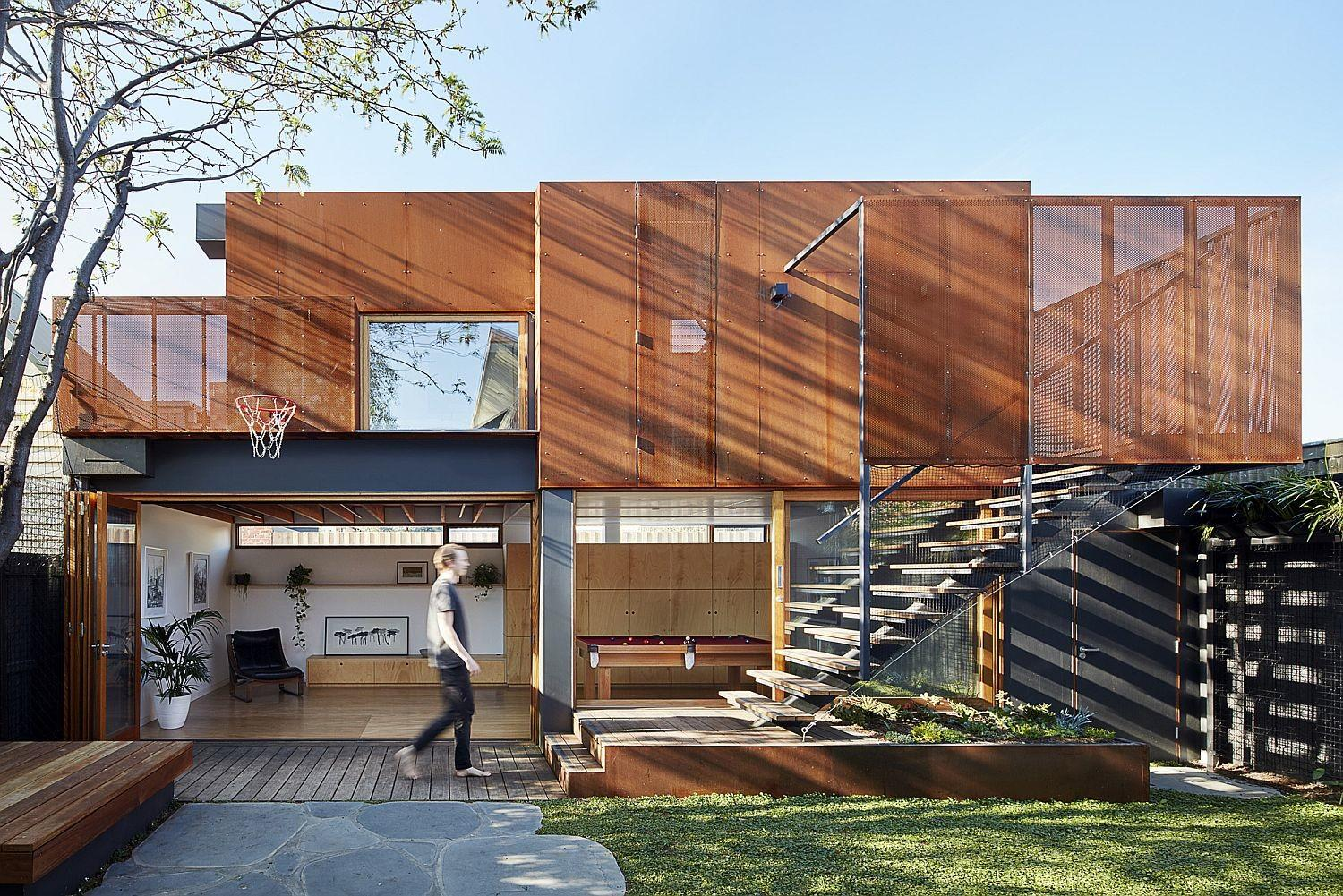 Modern Addition Family Residence Also Doubles