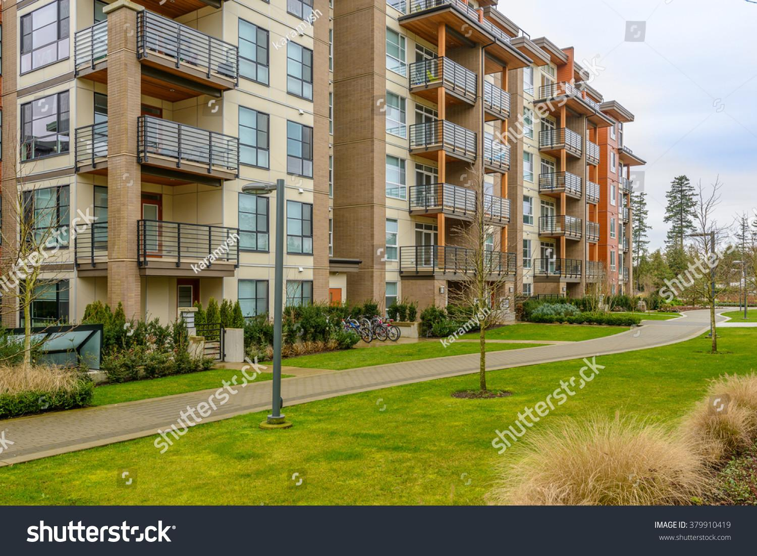 Modern Apartment Buildings Vancouver British Columbia