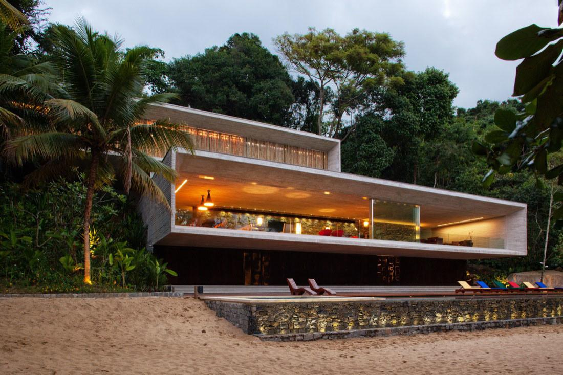Modern Beach House Brazilian Coast Idesignarch