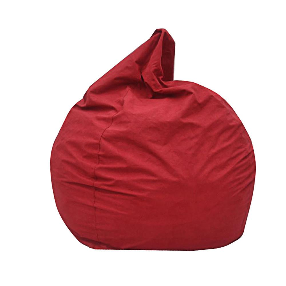 Modern Bean Bag Big Pear Chair Red
