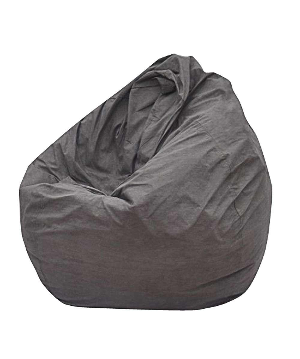 Modern Bean Bag Big Pear Gray Chair