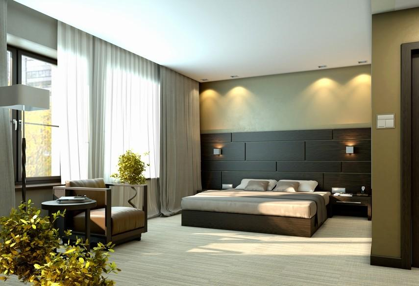Modern Bedroom Decorations Contemporary Decorating