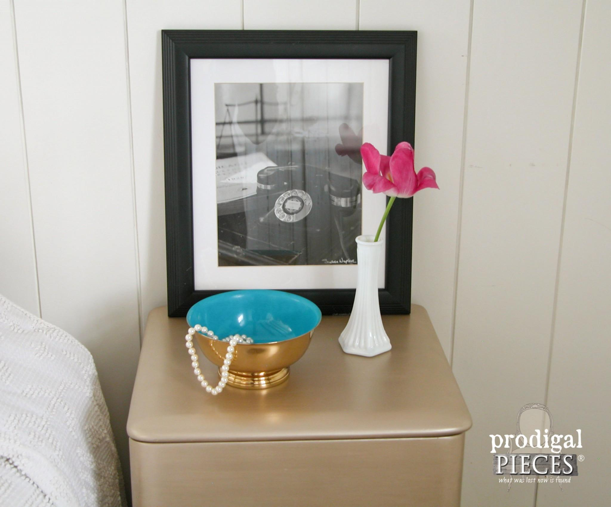 Modern Chic Makeover Art Deco Nightstand Prodigal Pieces