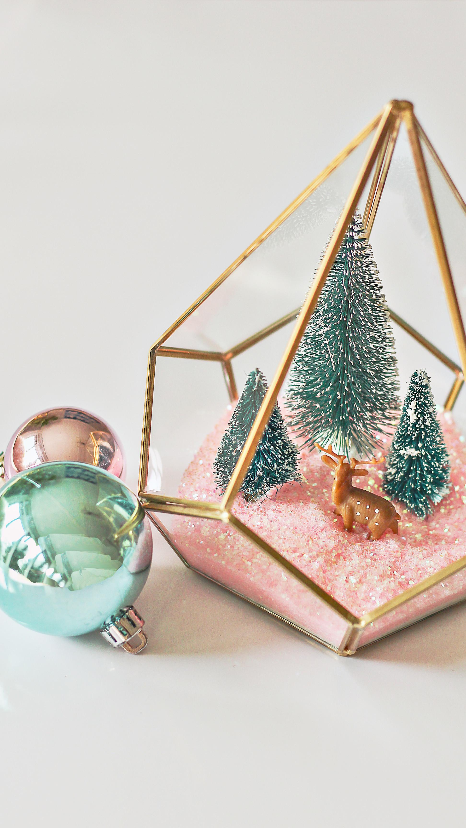 Modern Christmas Terrarium Diy Easy Craft Ideas