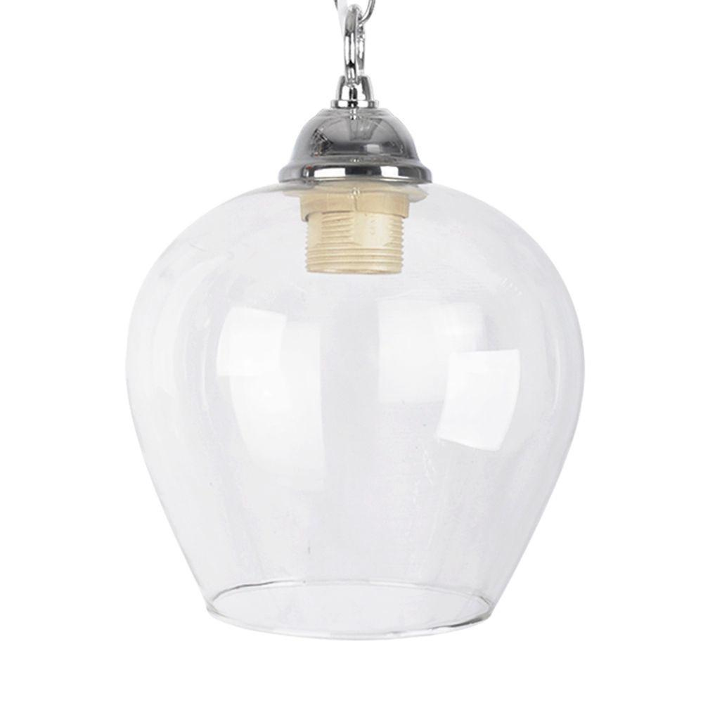 Modern Clear Glass Ceiling Pendant Light Lamp Shade Lights