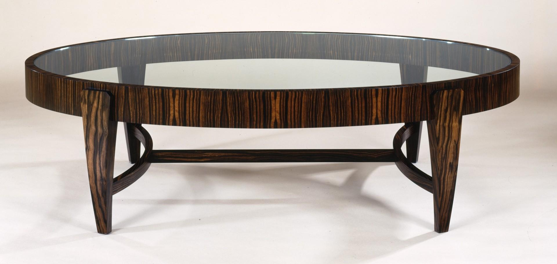 Modern Coffee Table Outstanding Oval