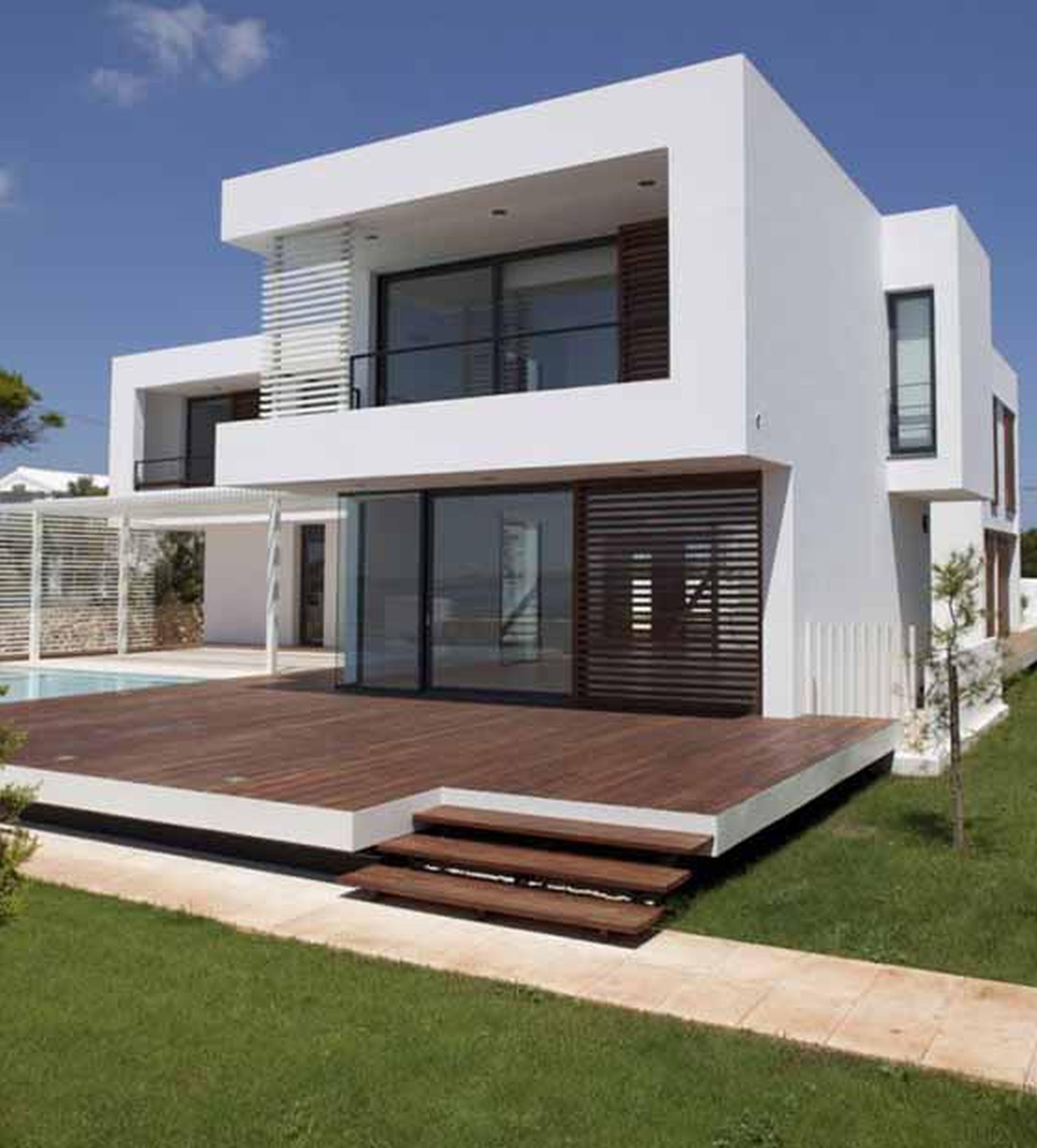 Modern Concrete Home Designs Simple Family House