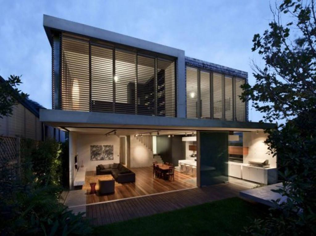 Modern Concrete Structures House Design Sydney