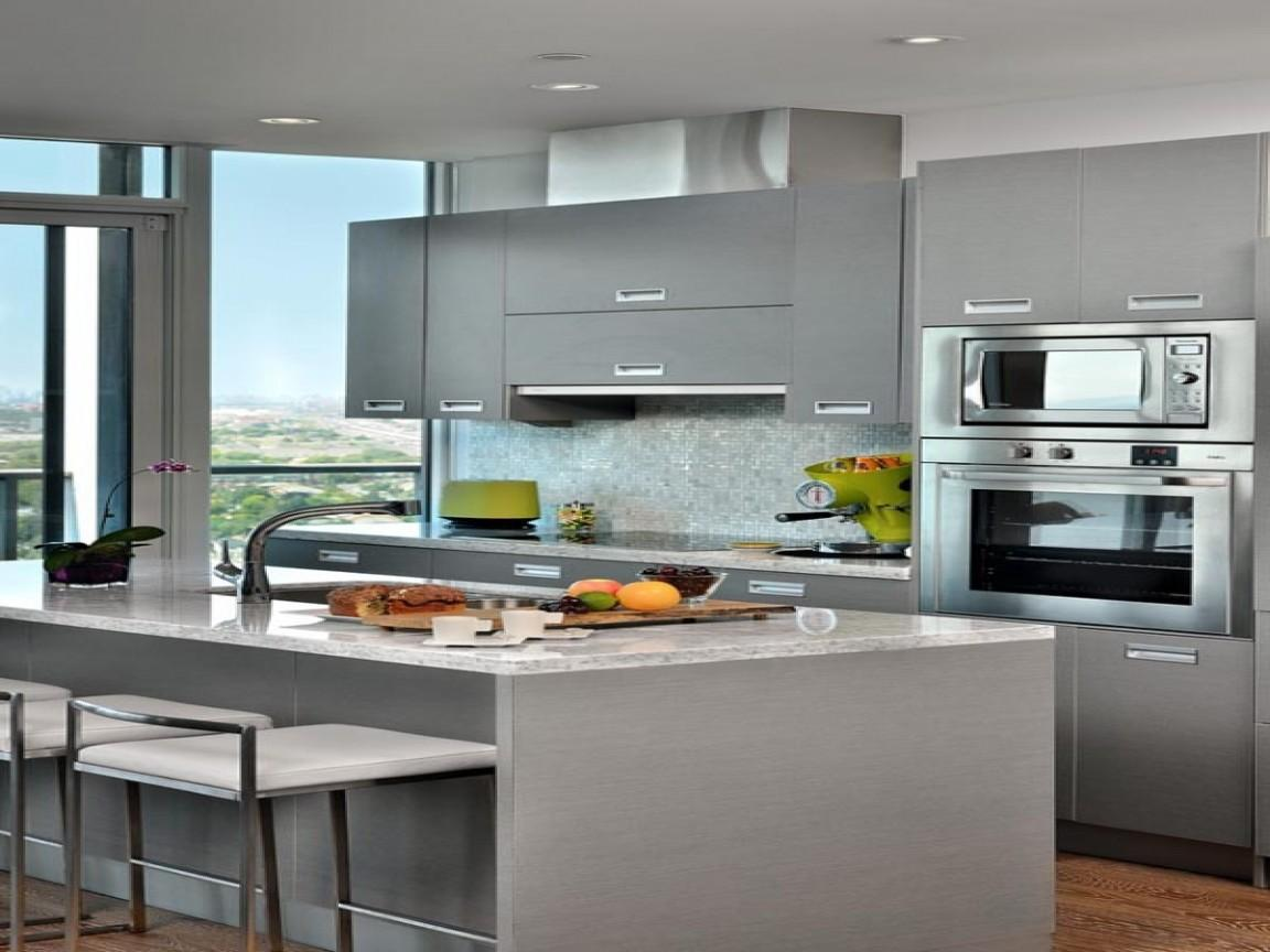Modern Condo Kitchens Grey Small Kitchen Design Ideas Decoratorist 59181