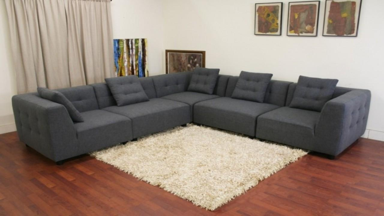 Modern Couches Small Spaces Modular Sofa