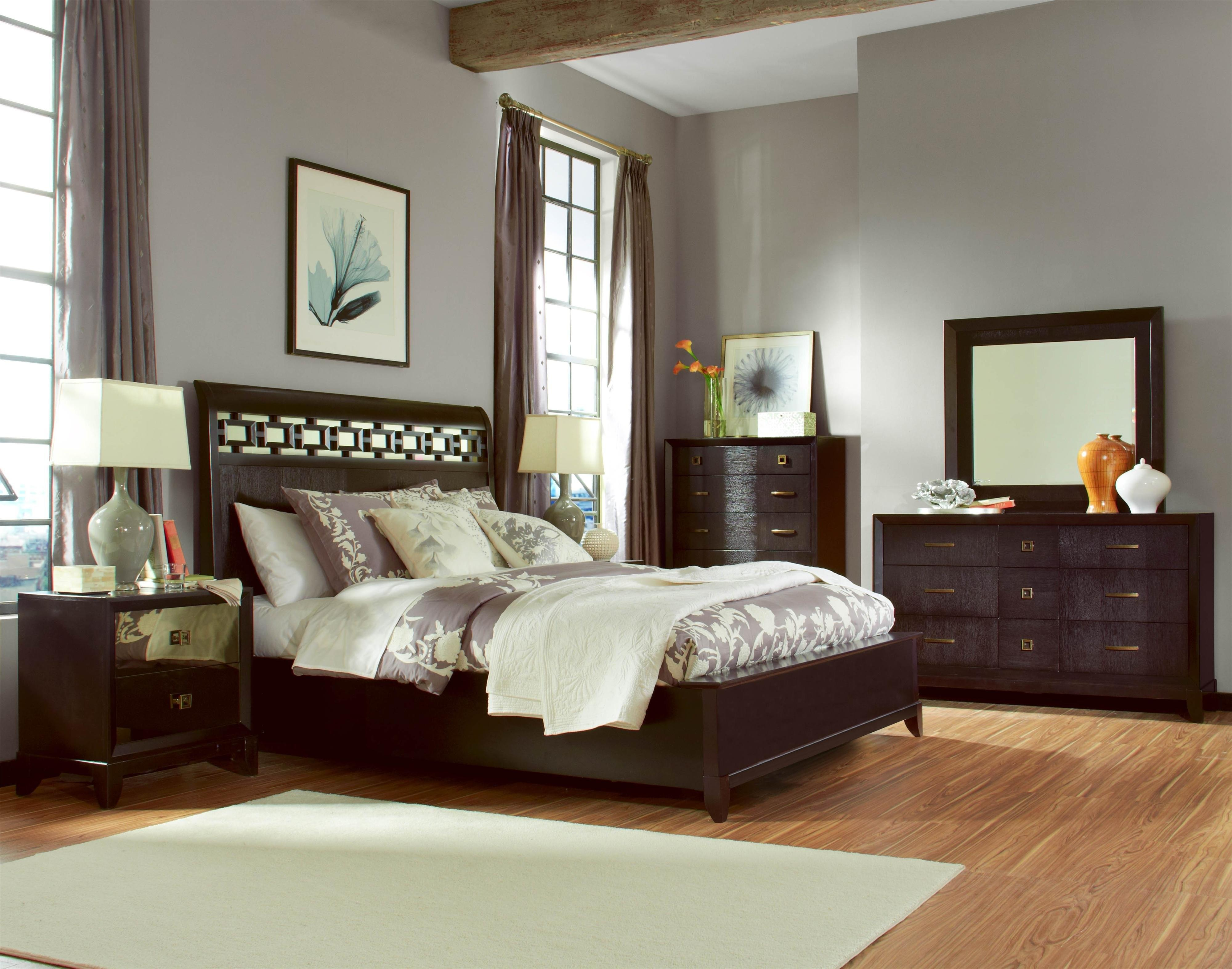 Modern Dark Furniture Bedroom Greenvirals Style