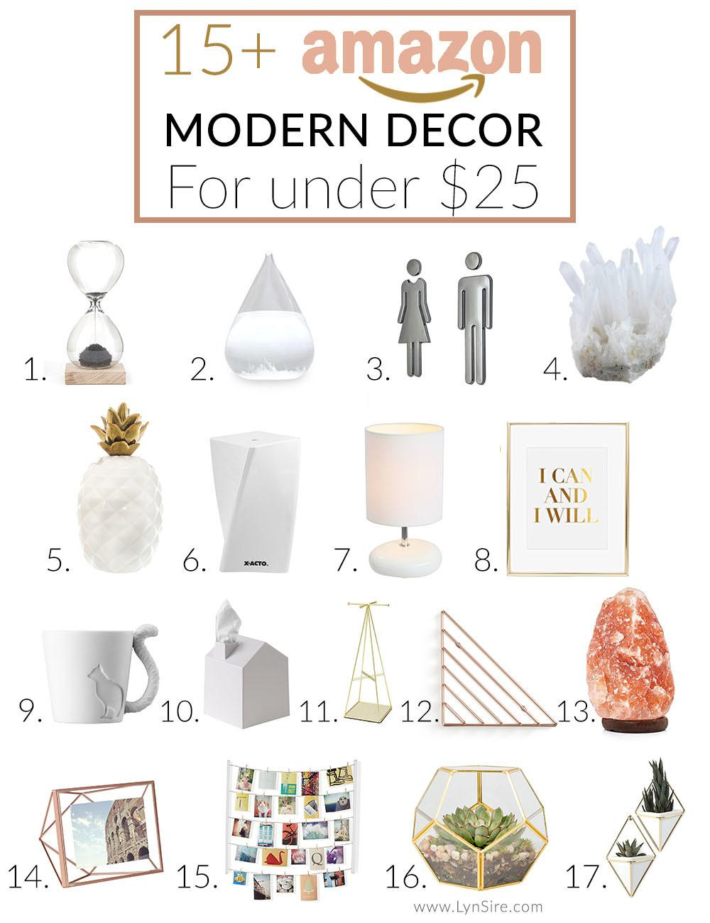 Modern Decor Finds Under Lynsire