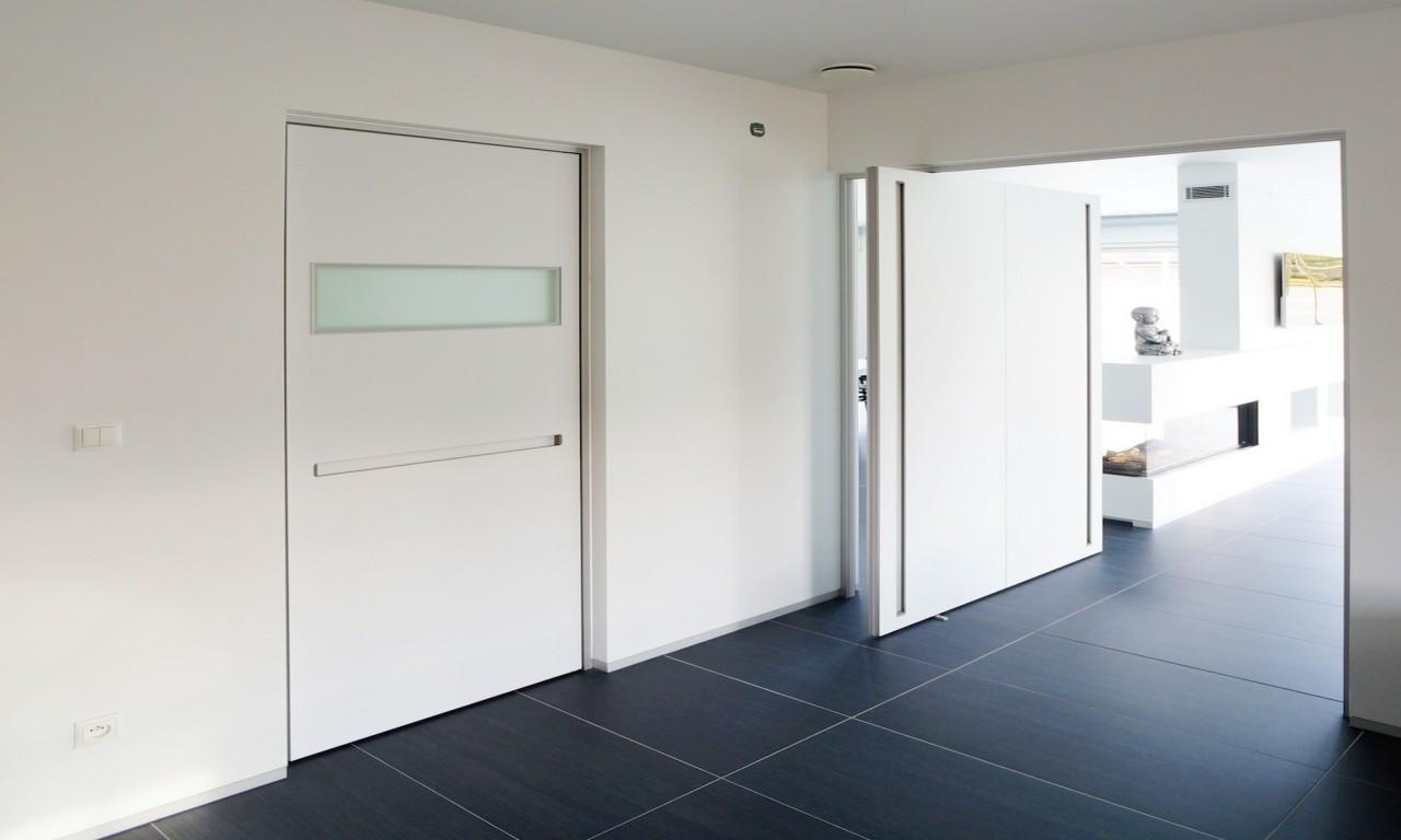 Modern Door Frame Custom Pivot Doors Interior