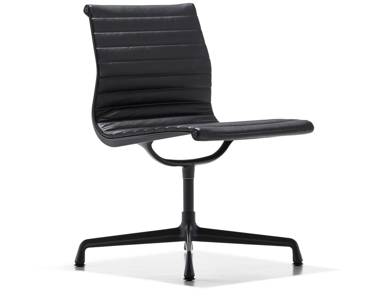 Modern Eames Aluminum Group Side Chair
